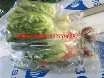免洗蔬菜包装机,蔬菜智能包装机械,自动叶菜套袋包装机