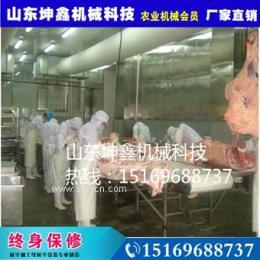 专业生产屠宰流水线猪屠宰设备屠宰流水线白条猪杀猪设备
