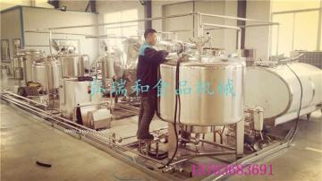 小型牛奶生产线、奶吧加工设备