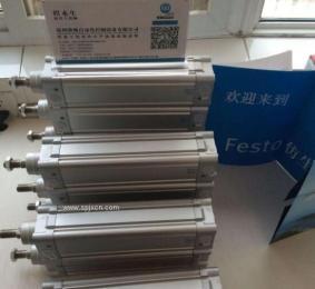 德國FESTO費型標準氣缸DNC32 40 50 63 80 100 125系列