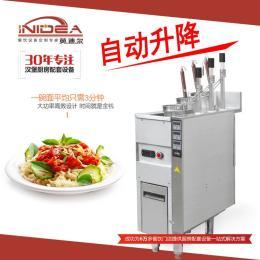 商用3头自动升降煮面炉 电热保温节能煮面机 面馆煮面炉
