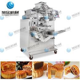 餡中餡自動包餡機 月餅機生產線 月餅生產設備 小加工廠創業項目 多功能月餅機