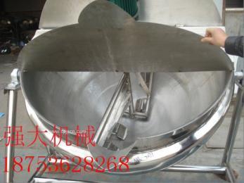 食品机械 蒸汽锅蒸煮锅 304电加热不锈钢夹层锅节能环保有现货