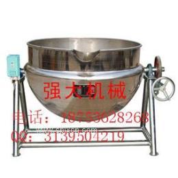 大型立式熬粥混合攪拌夾層鍋 燃氣夾層鍋 可傾斜式電加熱夾層鍋 舉報