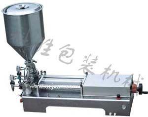 邯郸科胜立式奶油膏体灌装机|河北包装机