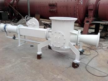 低壓連續式氣力輸送系統設備精簡高效又環保