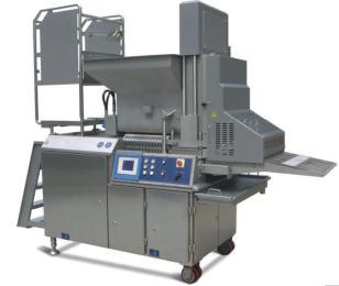 ZSCT300-V全自动成型机,肉饼成型机