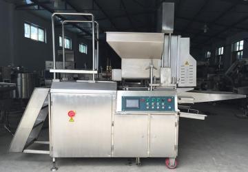 ZSCB600-V全自动成型机,肉饼成型机,上粉机上屑机上浆机