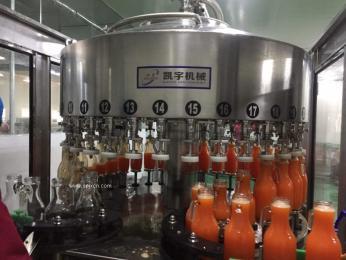 26头真空负压自动灌装机饮料果汁葡萄酒灌装机