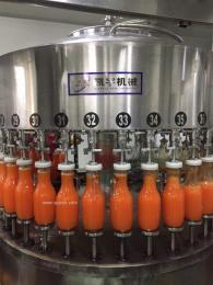 负压自动液体灌装机果汁饮料葡萄酒灌装机