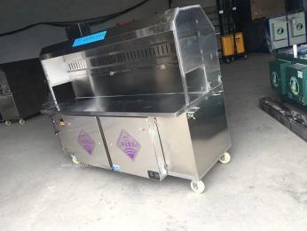 石家庄新款无烟烧烤车华夏紫光环保烧烤炉货到付款