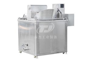 吉林厂家直销泰杰TJ-1000全自动香米花生油炸机肉制品油炸机