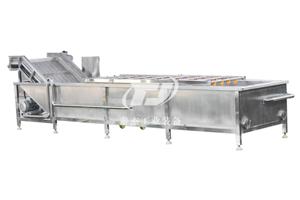 河南厂家直销泰杰TJ-6000豆角气泡清洗机榨菜清洗机叶菜清洗设备