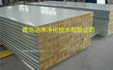 临?#31034;?#21270;工程材料之净化彩钢板的特性
