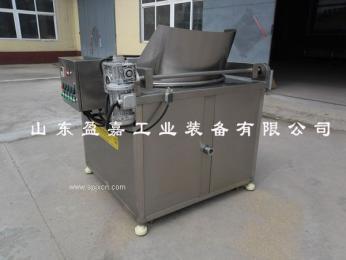 凤尾虾油炸机,自动过滤电加热油炸机