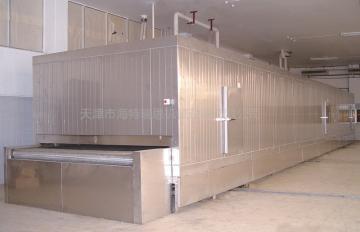 玉米粒秋葵豆角流态化速冻机单冻机