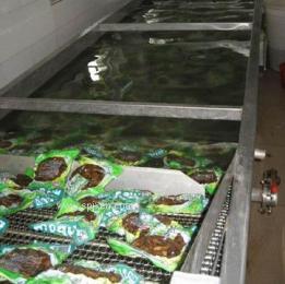 软包装食品巴氏灭菌流水线