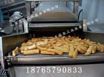 油豆腐专用油炸机,炸豆干油炸机