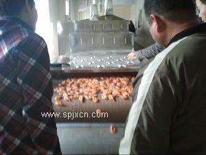 希朗微波大虾烘烤设备厂家    领军品牌