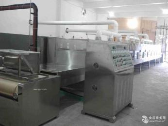 工業微波調味品干燥(殺菌)專用生產設備