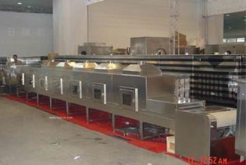 貓砂微波干燥設備生產線介紹
