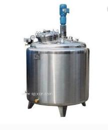 高粘度搅拌罐 电加热真空搅拌罐 1000L搅拌罐
