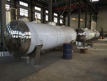 不锈钢卧式储罐 单层浓缩液储罐 提取液储罐  大型储存罐