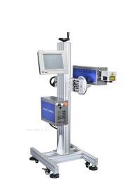 塑料材質激光噴碼,生產日期激光打標機