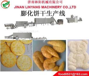 膨化餅干夾心餅干生產設備