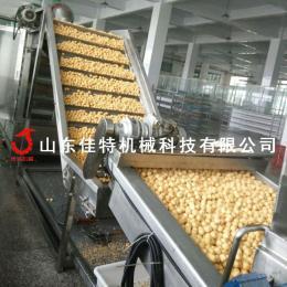 定制型油豆腐油炸生产线