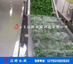 全自动净菜加工生产线 涡流式果蔬清洗机