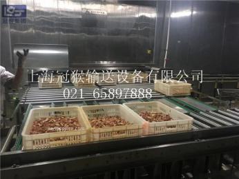 肉制品(熟食卤制品)分割输送生产线