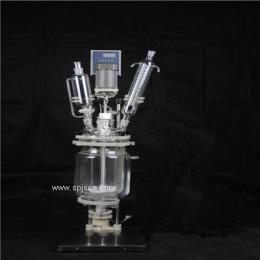 SF-1L双层玻璃反应釜