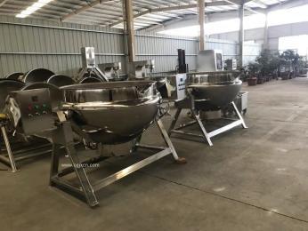夾層鍋 蒸汽加熱夾層鍋 鹵肉制品廠專用煮鍋