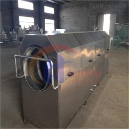 HK-3000榨菜喷淋软包装洗袋机螺旋出料效率高省人工