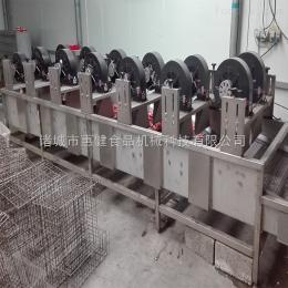 FG-6/1/12B恵键机械机械连续翻转风干机 食品加工风流水线表面去水干燥机
