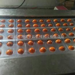 DLZ-420大型連續鹵蛋包裝機魚板燒拉伸膜真空包裝機