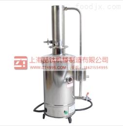 不锈钢断水自控蒸馏水器YA-ZD-5参数,新款电?#26085;?#39311;水器适用范围