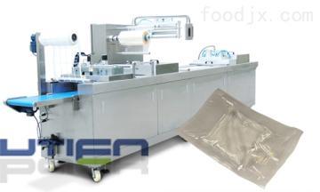 DZL-420R盐水袋全自动拉伸膜包装机