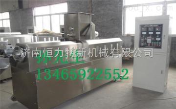 雙螺桿膨化機械設備膨化食品生產設備