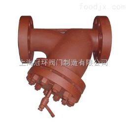 上海冠环SBYIII-HS高压Y型过滤器,上海阀门厂