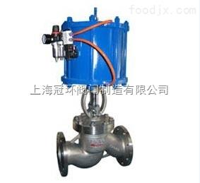 上海冠環J641H,J641Y高壓氣動截止閥,上海閥門廠