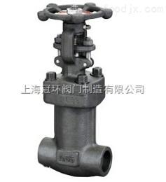 上海冠環WJ11Y,WJ61Y鍛鋼波紋管截止閥,上海閥門廠