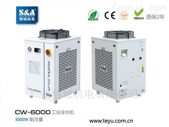 CW-6000冷水机成射频管co2激光打标机冷却利器