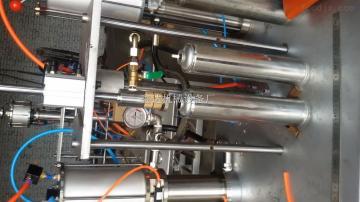 XD-8不锈钢分体罐装罐装泡沫胶生产机器设备