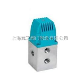 上海 YC24D二位四通电磁阀 --结构尺寸图--上海茸工阀门制造有限公司