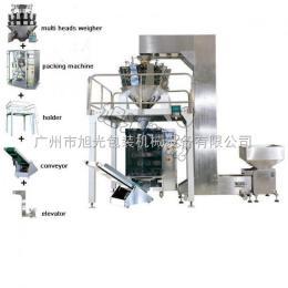 广州旭光全自动电子称包装机、膨化食品包装机