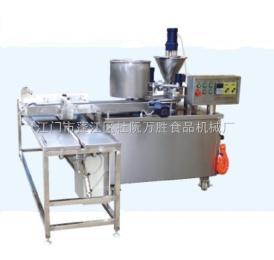 JXF-2007有證書萬勝廠家炒米餅機 杏仁餅機 糕點機 綠豆機 紅豆機