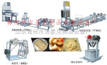 三米線廠家直銷干豆腐機,豆皮機,千張機