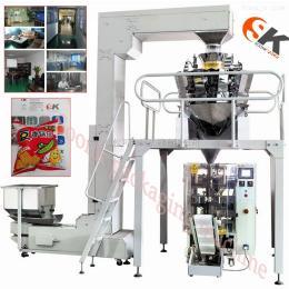 佛山松可膨化食品充气包装机 SK-520休闲食品包装机械设备